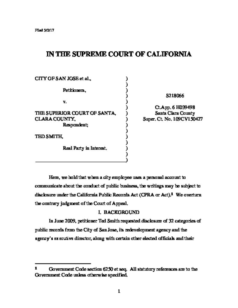 Search Court Cases On-line - Superior Court of California