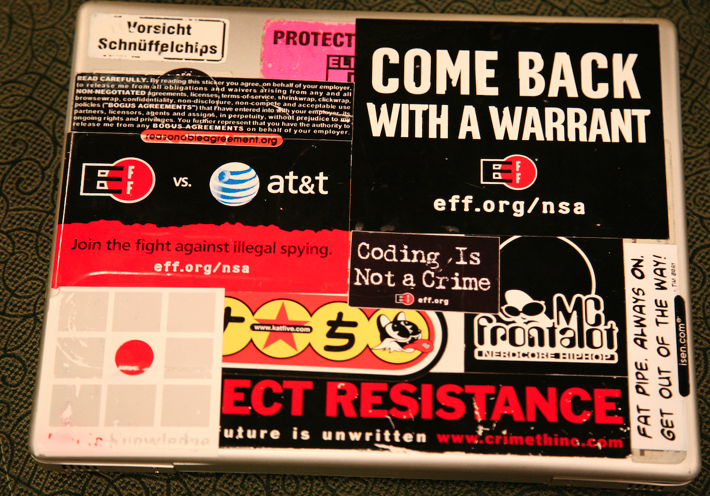 working at eff electronic frontier foundation