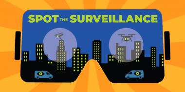 Spot the Surveillance banner