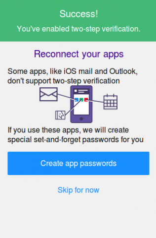 Disable two step verification yahoo