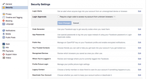 How to Enable Two-Factor Authentication on Facebook | Electronic