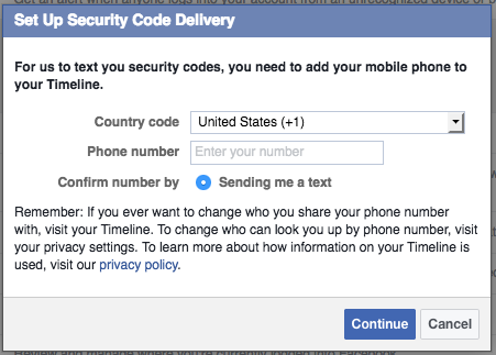 How to Enable Two-Factor Authentication on Facebook