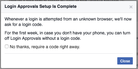 How to Enable Two-Factor Authentication on Facebook   Electronic