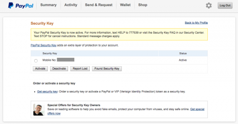 How to Enable Two-Factor Authentication on PayPal | Electronic