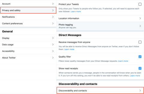 How To Protect Your Phone Number On Twitter
