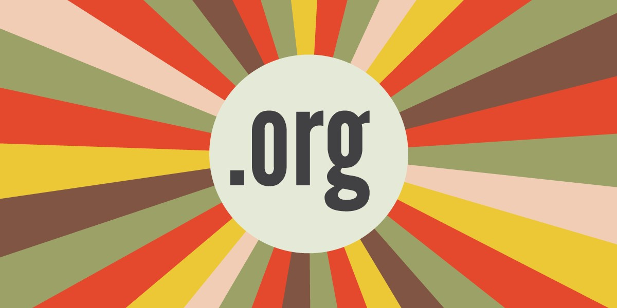 Nonprofits and NGOs rely on the .org top-level domain.