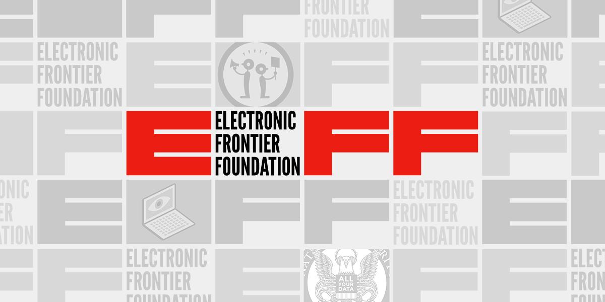 EFF logo pattern