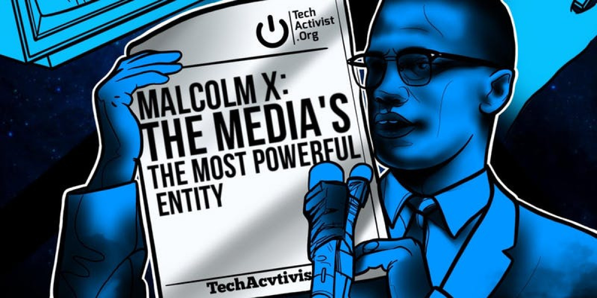 TechActivist.Org Presents: Malcolm X - The Media's the Most Powerful Entity