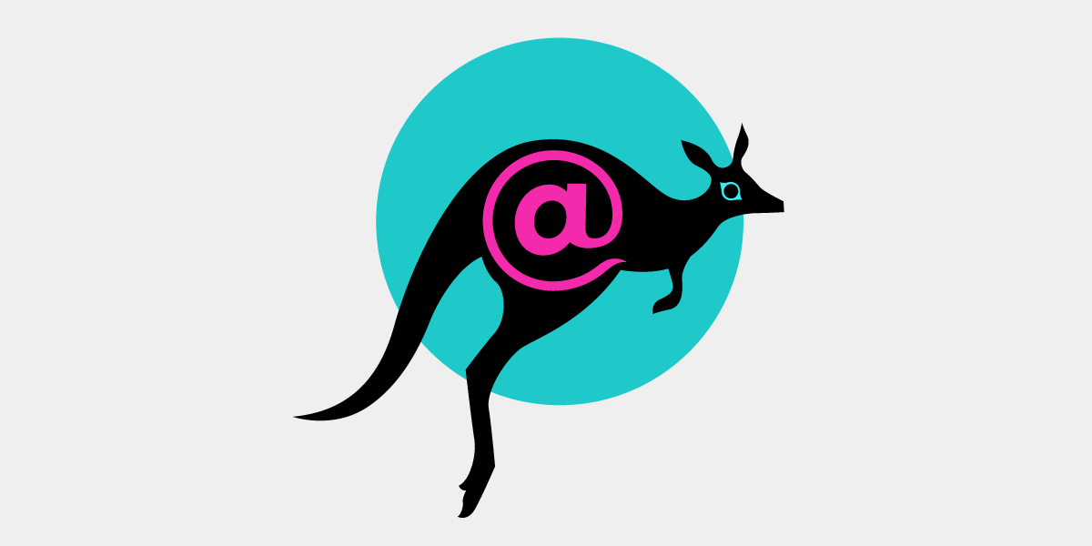 The STARTTLS Everywhere logo of a kangaroo with an @ symbol inside.
