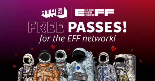 EFF Members can get free or discounted tickets to All Things Open!