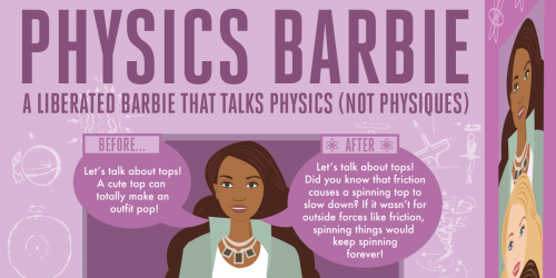 Physics Barbie