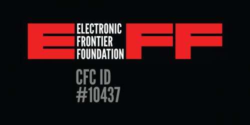 EFF Logo and CFC ID #10437