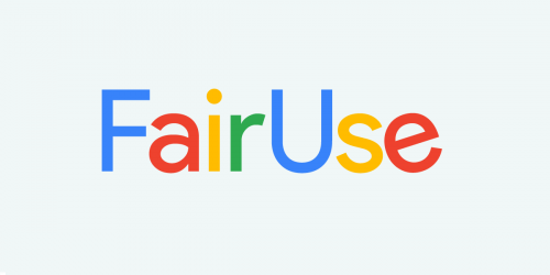 Google Fair Use