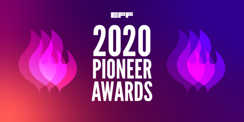 Pioneer Award Ceremony 2020 Logo
