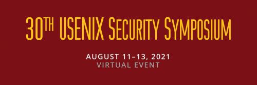 Usenix Security Symposium August 11-13
