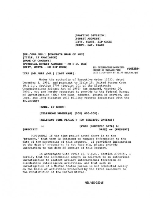 Complete Document Re Release By Fbi With Bates Numbers