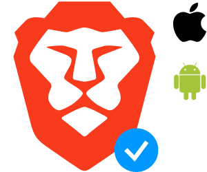 Android + iOS: Included in Brave!